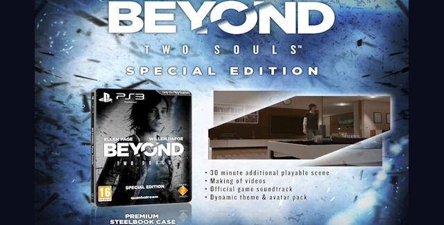 Beyond: Two Souls Special Edition Unboxing