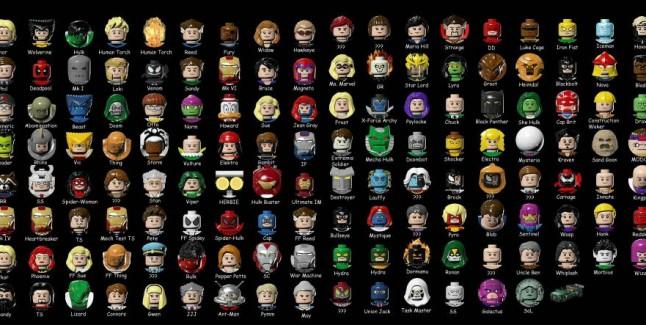 Lego Marvel Super Heroes Unlockable Characters