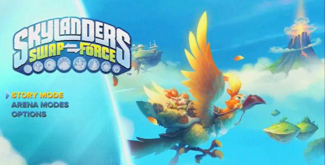 Skylanders Swap Force Cheats