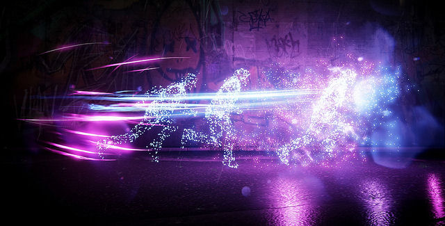 Infamous: Second Son neon dash power screenshot