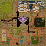 Zelda: A Link Between Worlds Lorule Map