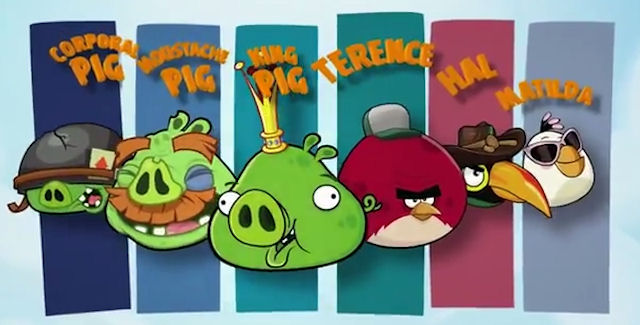 Angry Birds Go Unlockable Characters