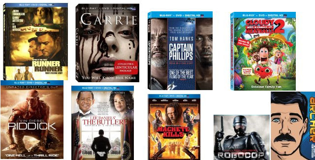 January 2014 DVD & Blu-ray Releases