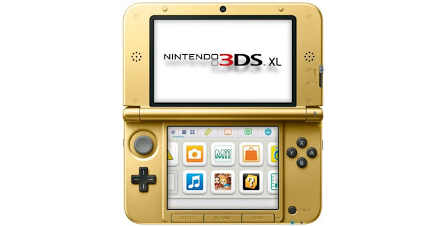 Nintendo 3DS is golden