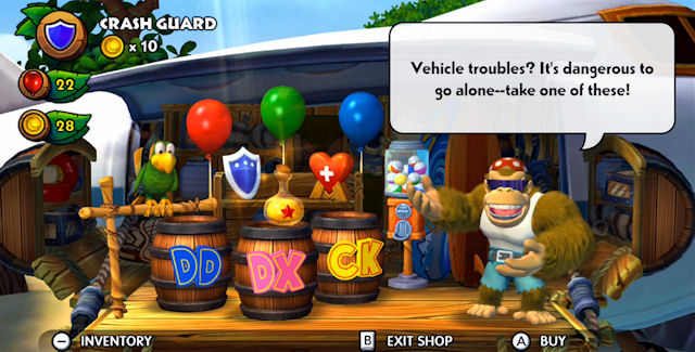 Donkey Kong Country: Tropical Freeze Easter Eggs