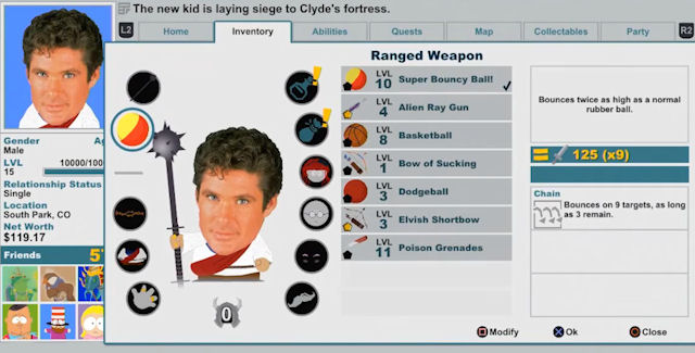 South Park: The Stick of Truth Weapons and Costumes Locations Guide