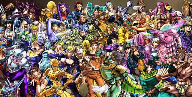 Jojo S Bizarre Adventure All Star Battle Characters List