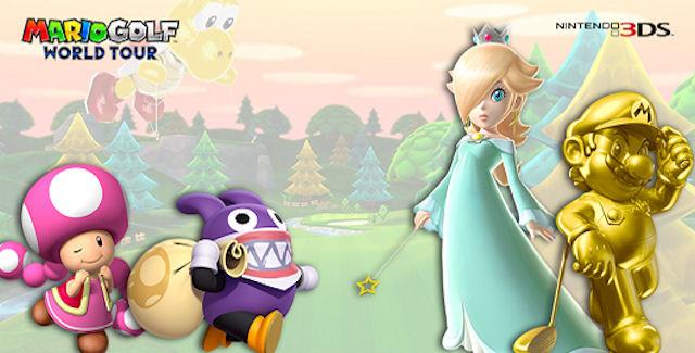 Mario Golf: World Tour Unlockable Characters