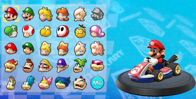 Mario Kart 8 Unlockable Characters