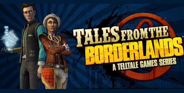 Tales from the Borderlands logo screen