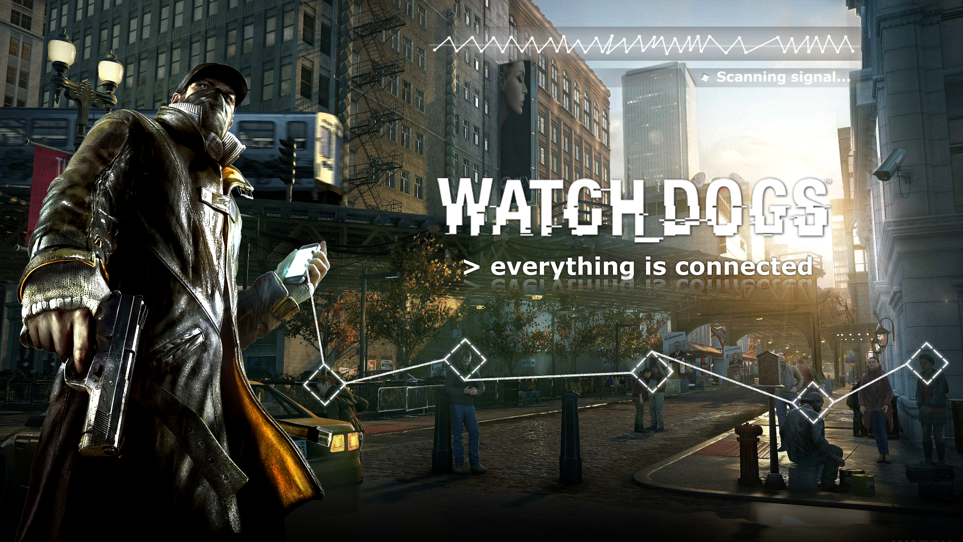 Group Of Watch Dogs Ultra Hd