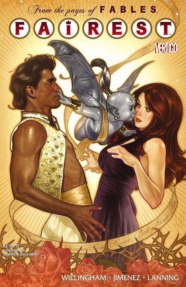 Ali Baba & The Sleeping Beauty on Fairest cover 2
