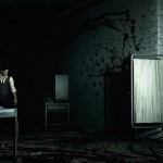 The Evil Within Gameplay Screenshot Blood Handprints