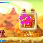 Kirby And the Rainbow Curse Tank Kirby Powerup Screenshot Wii U