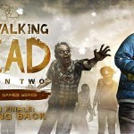 The Walking Dead Game: Season 2 Episode 5 Clementine holding Rebecca's Baby screenshot