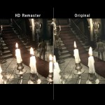 Resident Evil Remake HD Remaster Mansion Candles Graphics Comparison PS4 Xbox One PS3 360 PC