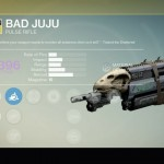 Destiny Bad Juju Exotic pulse rifle