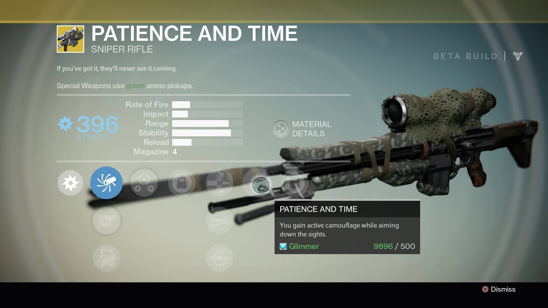 Best destiny primary weapons as of july 2015 - Destiny Patience And Time Exotic Sniper Rifle