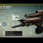 Destiny Plan C Exotic fusion rifle