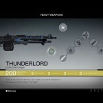 Destiny Thunderlord Exotic machine gun
