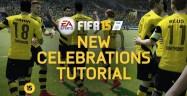 How To Unlock FIFA 15 Celebrations