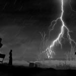 Black the Fall Lightning and Rain Gameplay Screenshot
