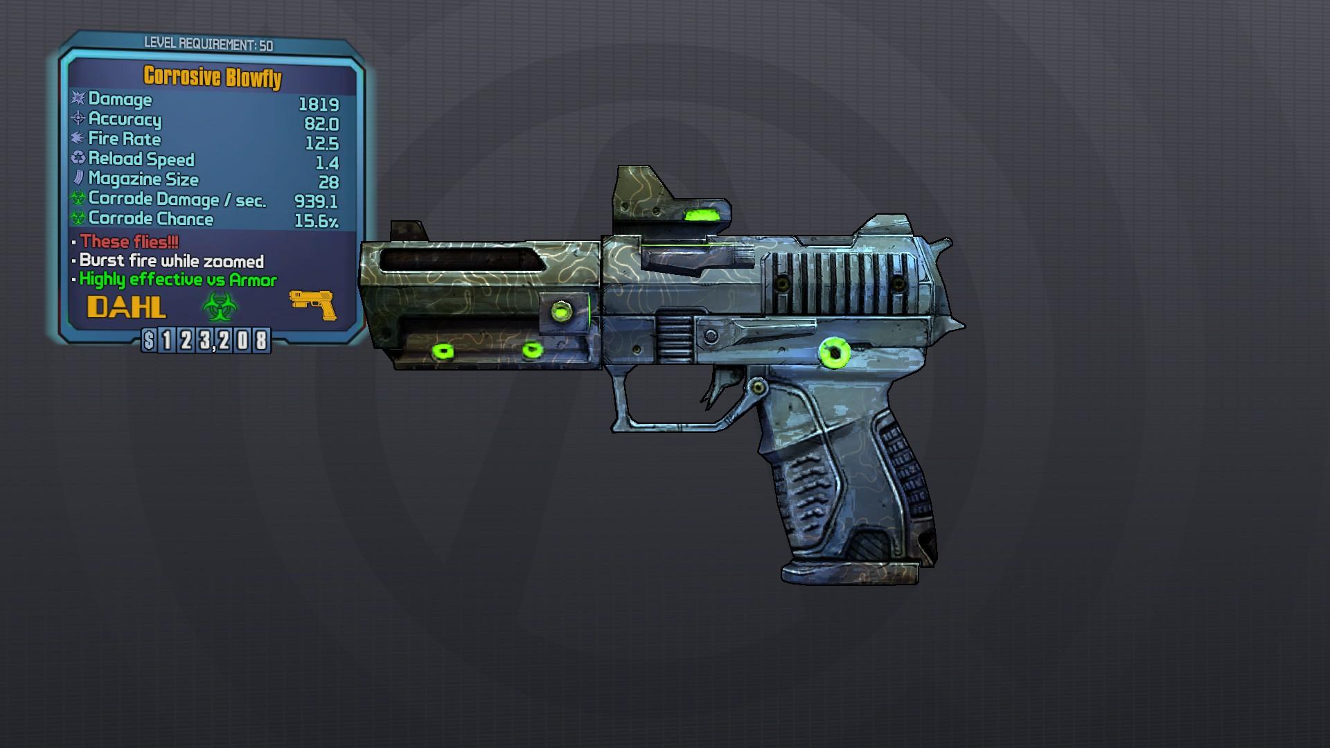 Borderlands The Pre Sequel Weapon Slots