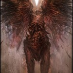 Hellblade PS4 Death Angel Boss Concept Artwork