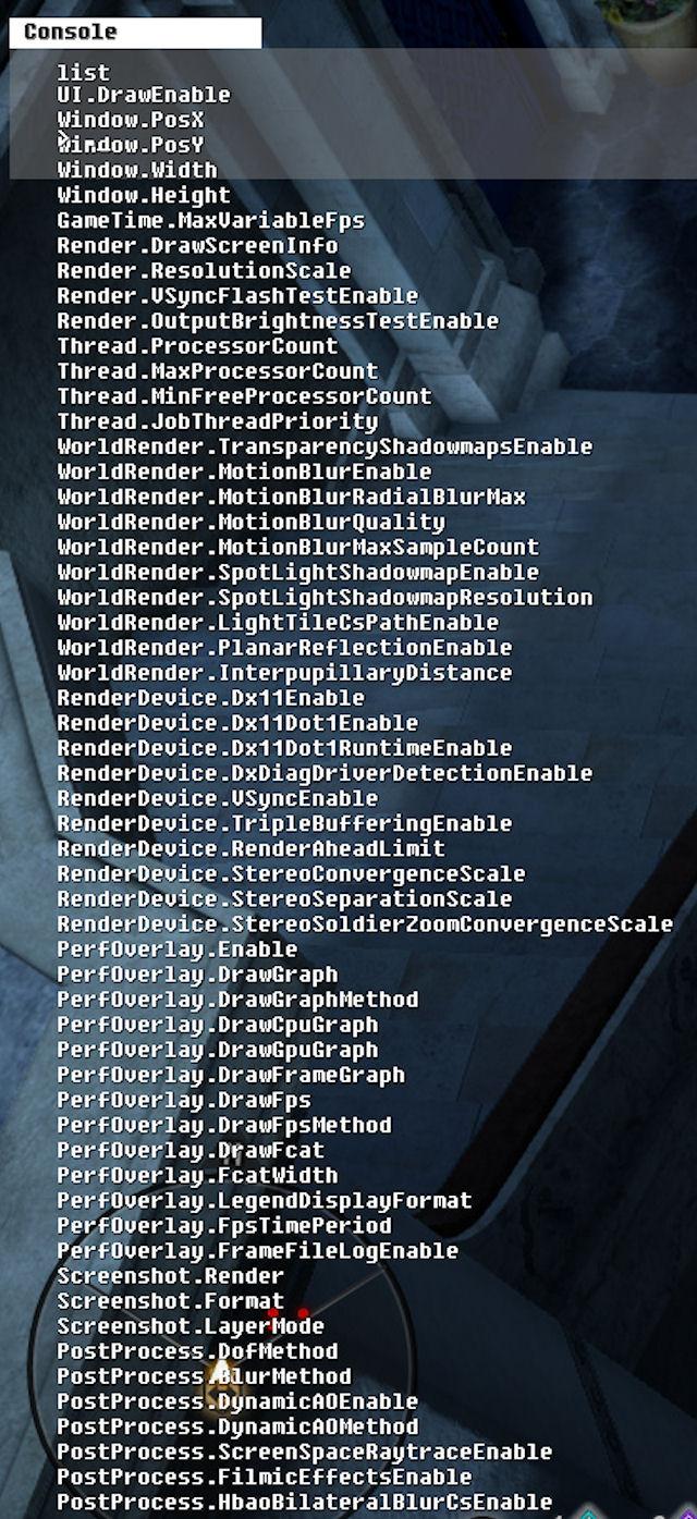 Dragon Age Inquisition Console Commands List