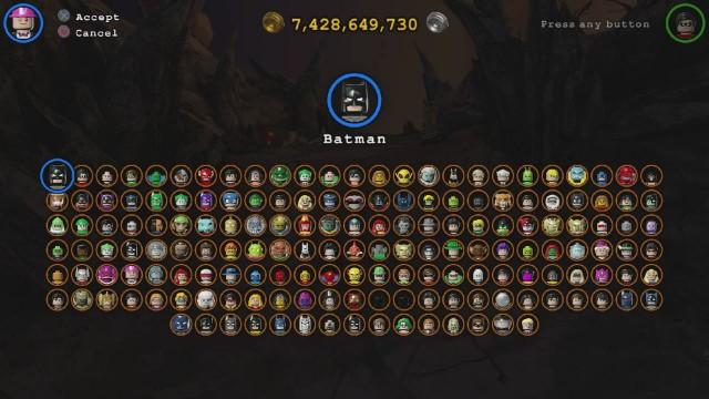 Lego Batman 3 Full Roster