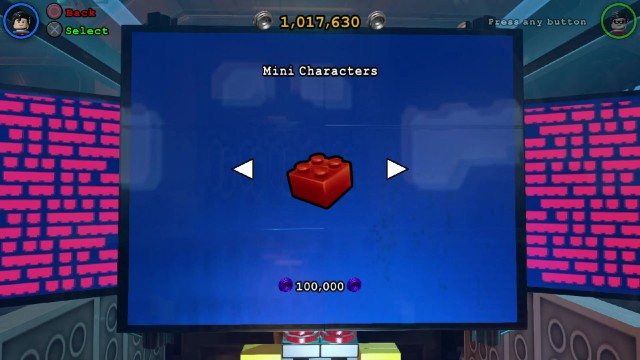 Lego Batman 3 Red Brick 17: Mini Characters Location
