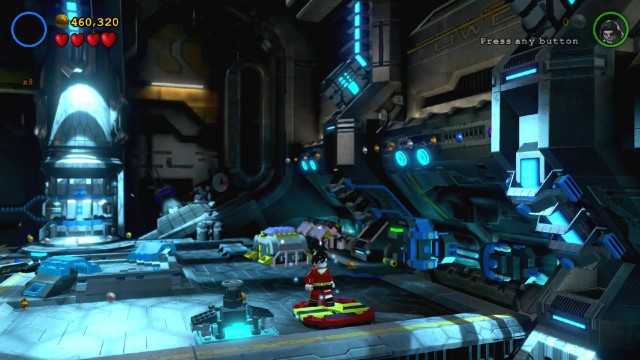 Lego Batman 3 Red Brick 3: Studs x6 Location