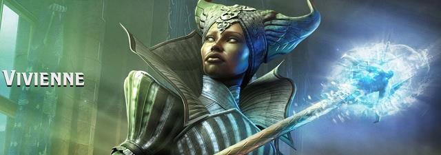 Vivienne Dragon Age 3 Inquisition Banner Character Artwork