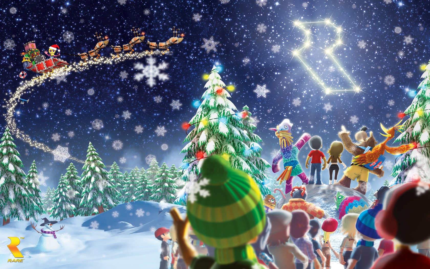 Kazooie Christmas Wallpaper