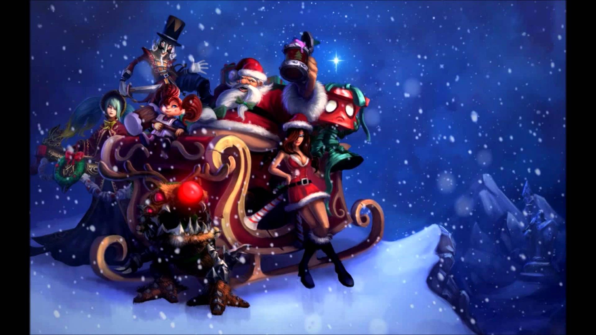 of Legends Christmas Wallpaper