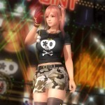 Dead or Alive 5: Last Round Honoka Dressed Skullshirt Gameplay Screenshot Outfit Xbox One PS4 PC Xbox 360 PS3
