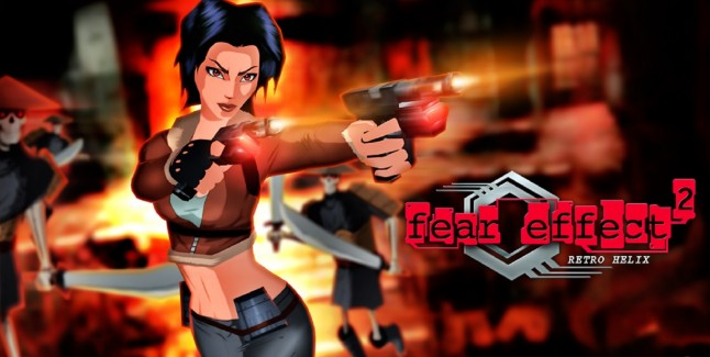 Fear Effect Wallpaper Hana Guns