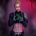 Mortal Kombat X Wallpaper Cassie Cage Brawler Variation Fanart by Grapiqkad
