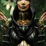 Mortal Kombat X Wallpaper Dvorah Dark Queen Variation Fanart by Flavio Luccisano