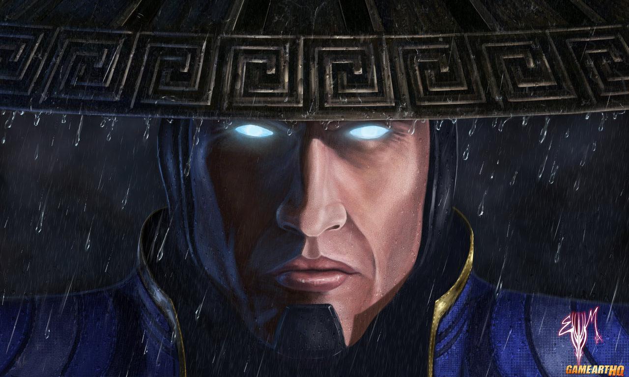 Mortal Kombat X Wallpaper Lord Raiden Returns Fanart by Esau Murga