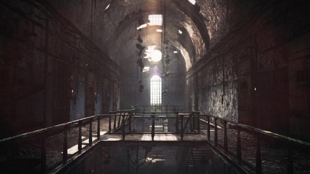 Resident Evil Revelations 2 Prison Walking Dead Concept Artwork Wallpaper
