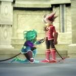 Rodea: Sky Soldier Gameplay Screenshot Bow Down WiiU 3DS