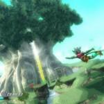 Rodea: Sky Soldier Gameplay Screenshot Deku Tree WiiU 3DS