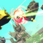 Rodea: Sky Soldier Gameplay Screenshot Fireball WiiU 3DS