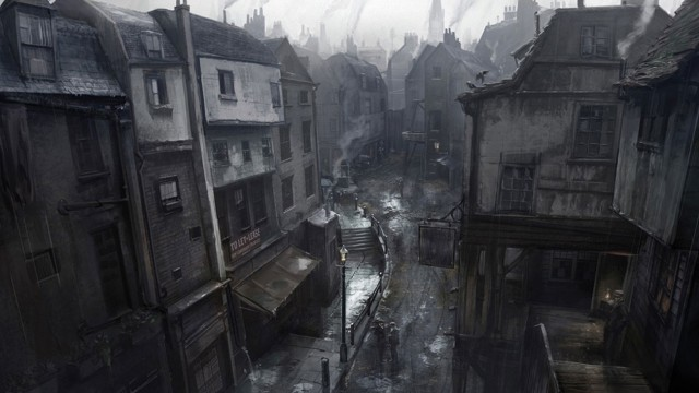 The Order 1886 Wallpaper Whitechapel London Streets Concept Artwork PS4
