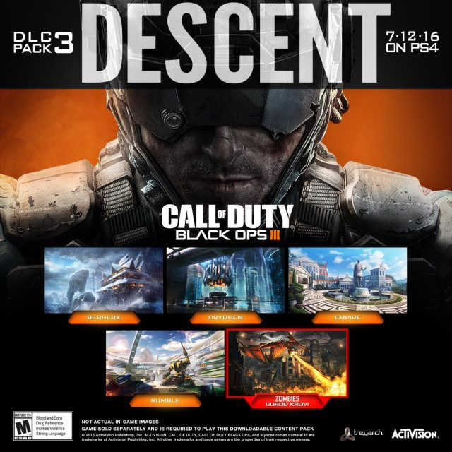 Call of Duty: Black Ops 3 DLC Pack 3 Descent