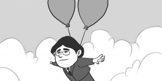 RIP Iwata Balloon Fight In Heaven Tribute Ballooning Away By Alejandro Argandona