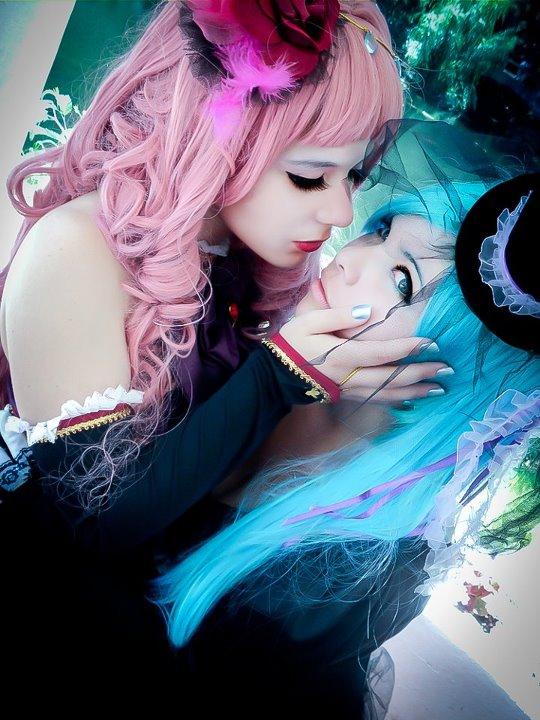 miku luka lesbian cosplay lovers starring yotsuba sama and