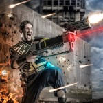 Fallout 4 Cosplay Firefight Starring Valentine Cosplay by Creative Edge Studios