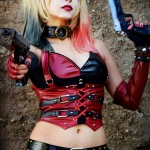 Harley Quinn Shermie Cosplay Sexy Girl With A Gun by Sweet Little World
